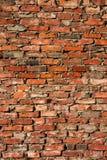 Backsteinmauerhintergrund Stockfotografie