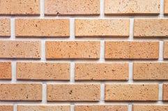 Backsteinmauerhintergrund, Beschaffenheit des roten Steins blockiert Nahaufnahme Lizenzfreies Stockfoto