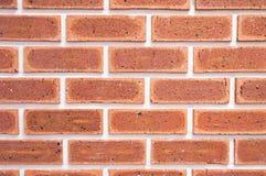 Backsteinmauerhintergrund, Beschaffenheit des roten Steins blockiert Nahaufnahme Stockfotos