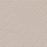 Backsteinmauerhintergrund, Muster für ununterbrochene Verdoppelung vektor abbildung