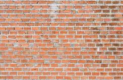Backsteinmauerhintergrund und -beschaffenheit Stockbild