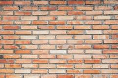 Backsteinmauerhintergrundbeschaffenheit, ackground Material des IndustrieHochbaus Stockfoto