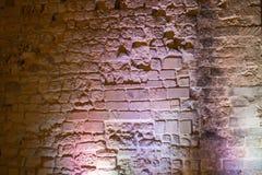 Backsteinmauern von verschiedenen Zeiträumen Lizenzfreies Stockbild