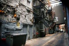Backstreet Stockbild