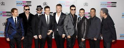 Backstreet Boys und neue Kinder auf dem Block Lizenzfreie Stockfotos