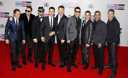 Backstreet Boys und neue Kinder auf dem Block Lizenzfreies Stockbild