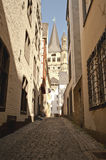 Backstreet of Cologne Royalty Free Stock Image