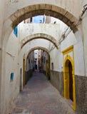 Backstreet de Essaouira; Imagem de Stock