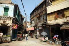 Backstreet. Deli velha, Índia. imagem de stock royalty free