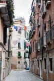 Backstreet em Veneza, Itália Imagem de Stock