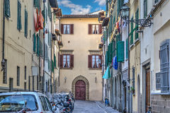 Backstreet in Florence Royalty Free Stock Photography