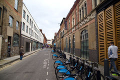 Backstreet in london Royalty Free Stock Photography