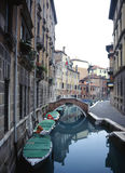 backstreets Βενετία Στοκ εικόνες με δικαίωμα ελεύθερης χρήσης