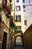 Backstreets de Venecia Imagen de archivo libre de regalías