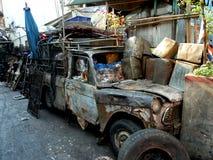 Backstreets di Bangkok Tailandia fotografie stock