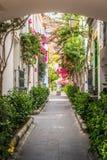 On the backstreets of Puerto Mogan Royalty Free Stock Photos