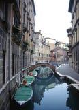 Backstreets van Venetië Royalty-vrije Stock Afbeeldingen