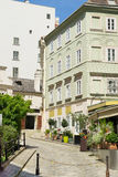 Backstreets of Vienna, Austria Royalty Free Stock Photos