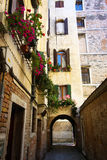 Backstreets von Venedig Lizenzfreies Stockbild
