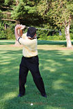 Backswing Stock Photography