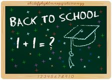 Backt to school. First day of school, start of  new school year, education Royalty Free Stock Image