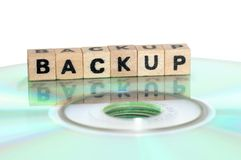 Backup Stockbild