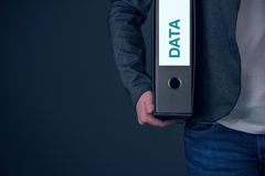 Backup business data concept, archive and keep safe Royalty Free Stock Photography