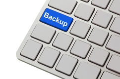 Backup button Royalty Free Stock Images