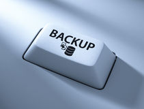 Backup button Stock Photography