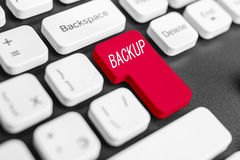 Backup button Stock Image