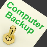 Backup Computer Switch For Archiving And Storage Stock Photography
