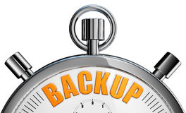 Backup. 3d rendering of a backup concept Royalty Free Stock Photography