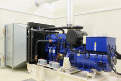 Backup Dieselgenerator Lizenzfreie Stockbilder