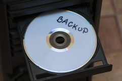 Backup disc Royalty Free Stock Image