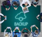 Backup Download Computing Digital Graphic Concept Stock Image