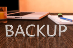 Backup Stock Image