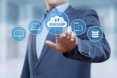 Backup Storage Data Internet Technology Business concept.  Royalty Free Stock Image