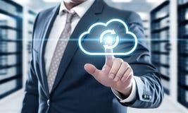 Backup Storage Data Internet Technology Business concept.  Royalty Free Stock Photo