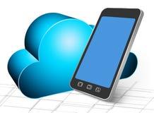 Backup to cloud Stock Photos