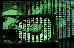 Backup und der Wiederherstellung Konzept des Datenspeichers, Lizenzfreies Stockfoto