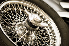 Backup wheel Royalty Free Stock Photo