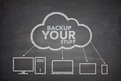 Backup your stuff concept Stock Photo