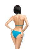 Backview of female wearing bikini Stock Photo