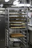 Backwaren in der Kreuzschiffküche lizenzfreie stockfotos