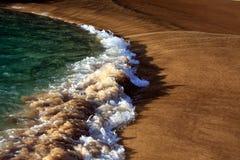 Backwash wave Stock Images
