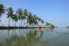 Backwaters of Kerala Royalty Free Stock Images
