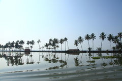 Backwaters of Kerala Royalty Free Stock Photos