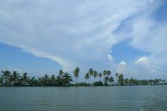 Backwaters of Kerala Royalty Free Stock Photos