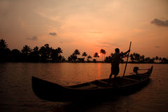 Backwaters of Kerala Stock Photos