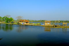 Backwaters of kerala Stock Images